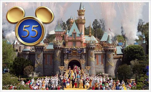 disneyland 55 Happy Birthday Disneyland und Europa Park!