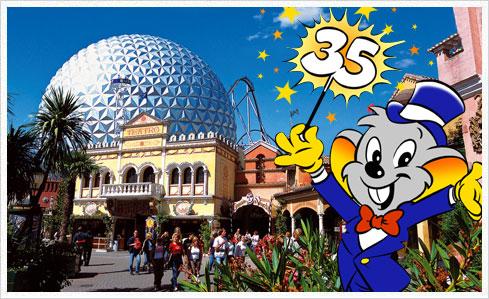 europa park 35 Happy Birthday Disneyland und Europa Park!