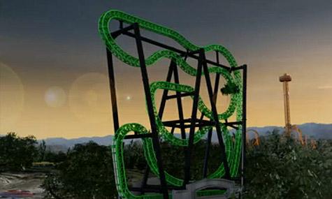 green lantern Achterbahn Neuheiten 2011