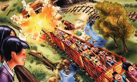 Disneyland Hong Kong Grizzly Peak 04 Achterbahn Neuheiten 2012