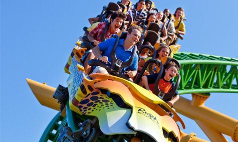 Busch Gardens Cheetah Hunt Achterbahn Neuheiten 2011