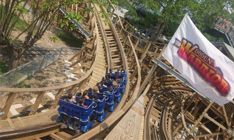 Wooden Warrior Quassi Achterbahn 01 Achterbahn Neuheiten 2011