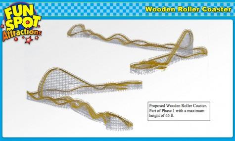 Fun Spot Orlando GCI Wooden Coaster 475x285 Achterbahn Neuheiten 2013