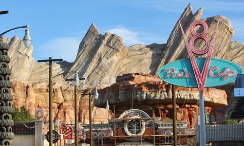 Radiator Springs Disney Frühlingsgefühle – Kalifornien im Eröffnungsfieber