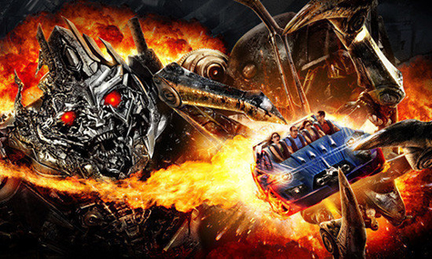 Transformers The Ride Universal Hollywood Frühlingsgefühle – Kalifornien im Eröffnungsfieber