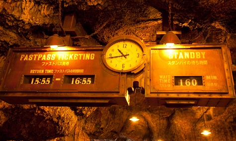 Tokyo Disney Sea Journey to the Center of the Earth Disney Wartezeiten – Ein Fall für sich
