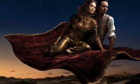 Disney Aladdin Jennifer Lopez Marc Anthony 475x285 Disney Dream Portraits   Wenn Stars zu Disneyfiguren werden...