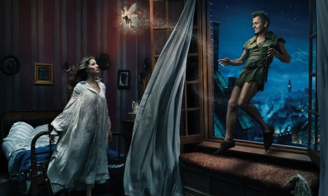 Disney Peter Pan Mikhail Baryshnikov Gisele Bundchen Tina Fey 475x285 Disney Dream Portraits   Wenn Stars zu Disneyfiguren werden...