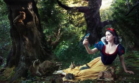 Disney Snow White Rachel Weisz 475x285 Disney Dream Portraits   Wenn Stars zu Disneyfiguren werden...