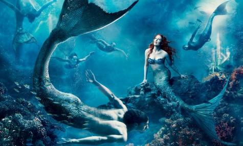 Disney The Little Mermaid Juilenne Moore Michael Phelps 475x285 Disney Dream Portraits   Wenn Stars zu Disneyfiguren werden...