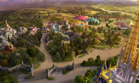 Fantasyland 1 475x285 Magic Kingdom   Neue Artworks der New Fantasyland Erweiterung