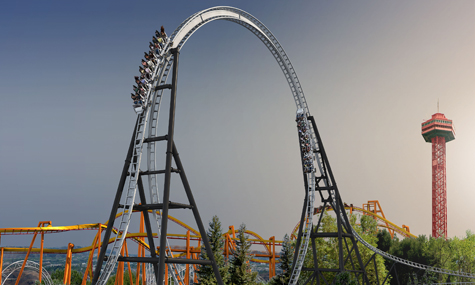 FullThrottle Six Flags Magic Mountain small2 Achterbahn Neuheiten 2013