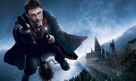 Fliegen mit Harry Potter ist für einmal außerhalb der Träume erlebbar.