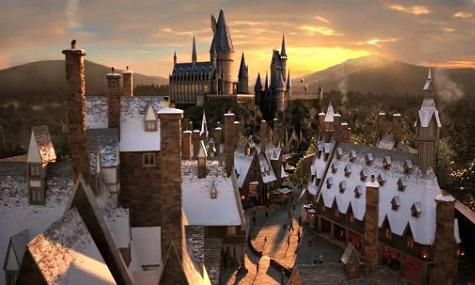 Der Harry Potter Themenbereich in Orlando.