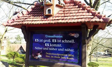 Weckt wieder Erwartungen: Der erste Wing Coaster in Deutschland, findet voraussichtlich 2014 zu uns.