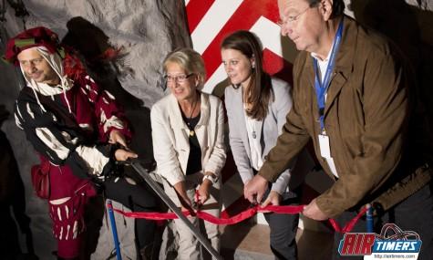 Der Knights Ride Tower ist offiziell eröffnet - Anklicken zum Vergrößern!