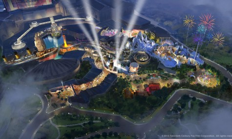 20thCenturyFoxWorld Luftartwork 475x285 Neue Filmparks   ein Blick in die Zukunft