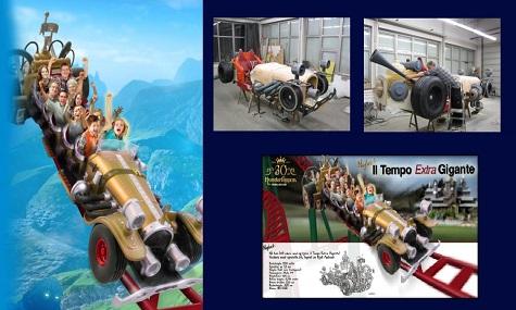 El Tempo Extra Gigante Achterbahn Neuheiten 2014