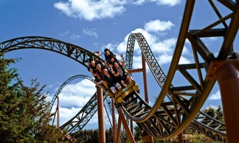 """So ähnlich wie der Launch-Coaster """"Lynet"""" in Farup Sommerland könnte die Achterbahn im Power Park aussehen"""