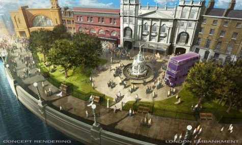 London begrüßt nicht nur mit enormer Architektur, sondern auch mit dem bekannten Dreifachstock-Bus