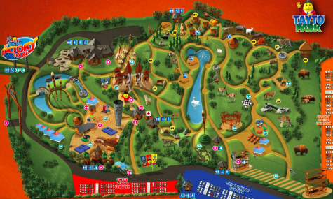 Der Parkplan des Tayto Park