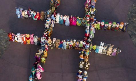 Mit diesem Hashtag aus 140 Disney-Charakteren wirbt Disney für die 24-Stunden-Aktion