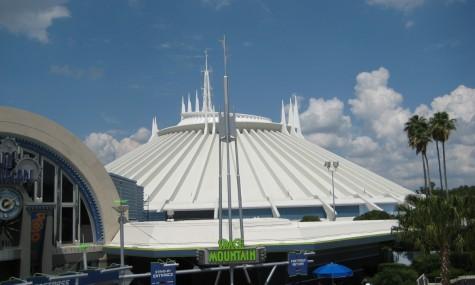 Space Mountain in Walt Disney World
