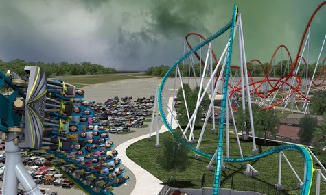 Platz 2 - Fury 325 in Carowinds