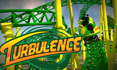 Grün-gelb dominiert nicht nur die Achterbahn, sondern auch das neu präsentierte Logo