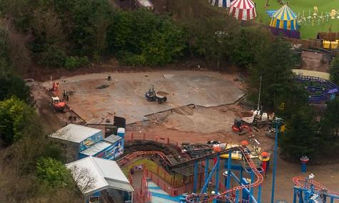 Rekordverdächtig groß scheint der Bauplatz nicht zu sein!