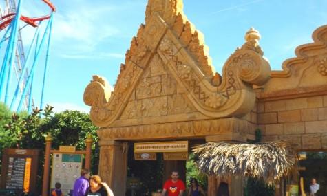 Eingang von Angkor