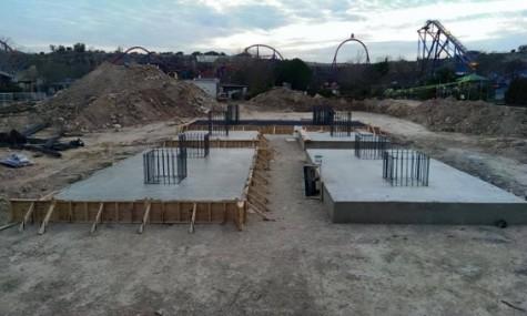 Der Anfang aller Baubilder: Fundamente.