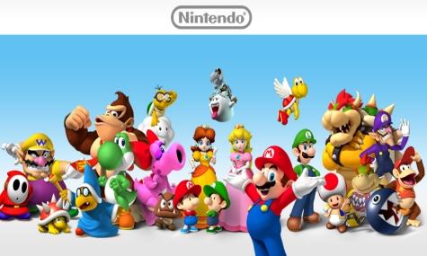 Ein kleiner Teil der großen Nintendo Familie