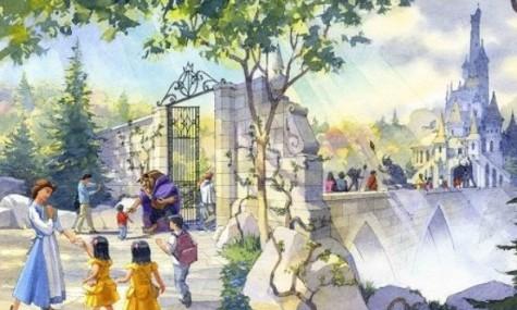 Das Artwork erinnert uns stark an das BeOurGuest-Restaurant im Magic Kingdom - Anklicken zum Vergößern!