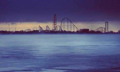 Die Skyline von Cedar Point