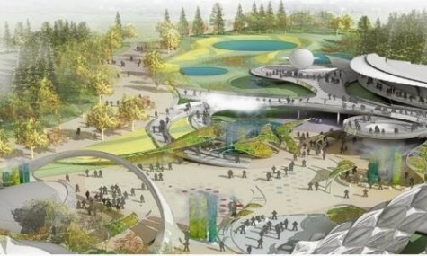 Futuristisch und doch nicht unvorstellbar. Die Zukunft in Shanghai?