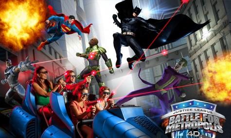 Justice League bietet den ewigen Kampf zwischen Gut und Böse - Anklicken zum Vergrößern!