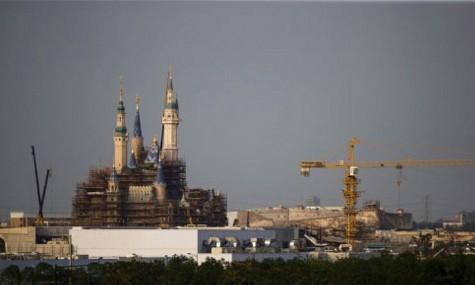 Das größte Disneyschloss der Welt - Anklicken zum Vergrößern!
