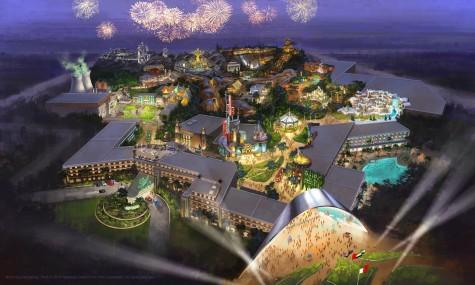 Das erste Artwork des geplanten Parks - Anklicken zum Vergrößern!