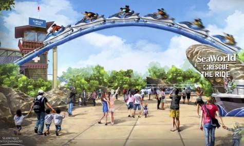 2017 kann man sich über diesen Jetski-Coaster im Sea World San Antonio freuen - Anklicken zum Vergrößern!