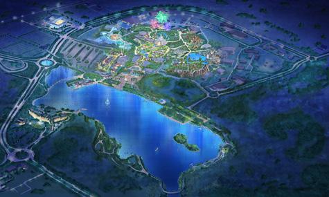 Der Wishing Star Park bietet noch viel Platz für zukünftige Erweiterungen.