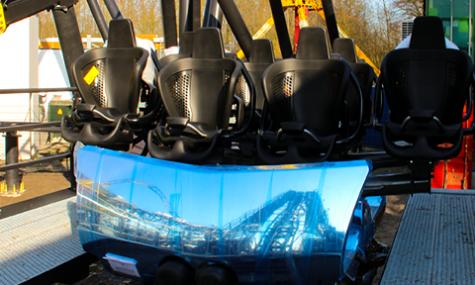 Das erste Bild des richtigen Zuges - (c) Themeparks.nl