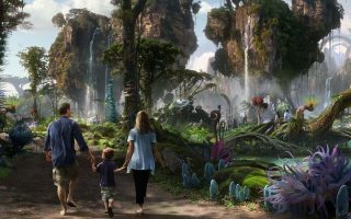 Avatar-Themenbereich - Disney biegt auf Zielgerade ein