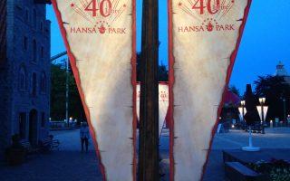 Airtimers vor Ort - 40 Jahre Hansa Park die Jubiläumsfeier