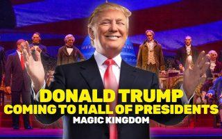 Donald Trump sorgt für Aufruhr im Magic Kingdom