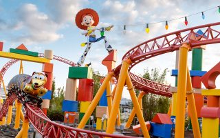 Toy Story Land in der Walt Disney World steht langsam in den Startlöchern