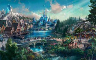 Das Hong Kong Disneyland erhält eine Frozen-Achterbahn