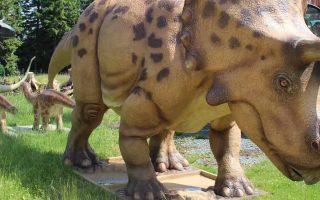 Dinosaurier-Erlebniswelt im Fort Fun Abenteuerland