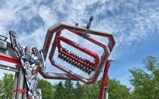 Neuheiten-Check: Cyborg Cyber Spin, Six Flags Great Adventure