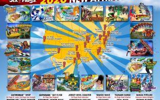 Six Flags – Alle Neuheiten 2020 im Überblick